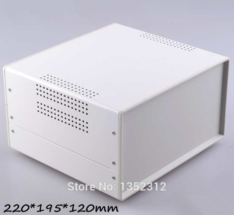 ФОТО One pcs 220*195*120mm electronic iron enclosure Iron box for industry project instrument box outlet case junction control box