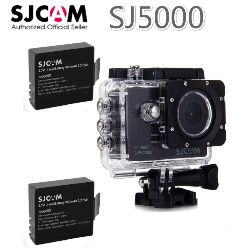 SJCAM SJ5000 HD 1080p Sports Action Waterproof DVR Camera Car DV+1pcs Original 900MAH Rechargeble Battery