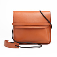 New High Quality Luxury Retro Simple Solid PU Tassel Flap Bag Girls Shoulder Bag Crossbody Bag