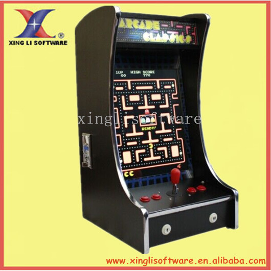 19 Inch Lcd Mini Vertical Bartop Arcade Machine With