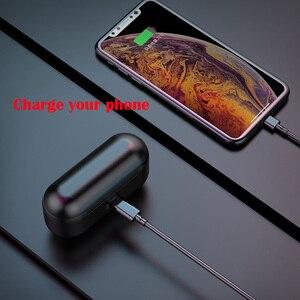 Image 3 - TWS Bluetooth 5.0 Tai Nghe Không Dây Tai Nghe Nhét Tai dành cho Redmi Note 4 điện thoại Stereo Tai Nghe Nhét Tai sạc có hộp 3500 mAh Power Bank