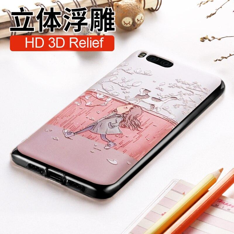 Untuk Xiaomi mi6 Kasus mi 6 Penutup Vpower 3D Stereo Bantuan lembut - Aksesori dan suku cadang ponsel - Foto 3