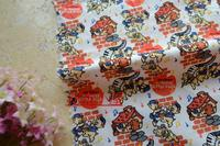 100*112cm Piano Mickey Minnie Cotton Fabric For Sewing Fat Quarter Quilting Patchwork Doll Kids Bedding Patchwork