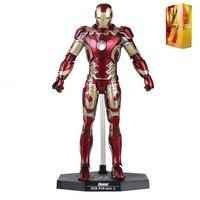 Movie Avenger Tony Stark Mark XLII MK42 Shine Assemble Action Figure Free Shipping