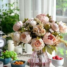 Wysokiej jakości sztuczne kwiaty PIWONIA
