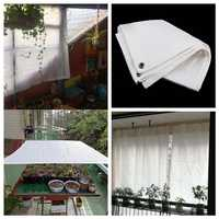Hi-Quality White Garden Sun Shade Sails Sailing No Smell HDPE Anti-UV Sun Shelter Sunshade Plants Protection Cover Shade Net