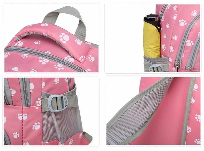 Fashion kids book bag breathable backpacks children school bags women leisure travel shoulder backpack mochila escolar infantil 9