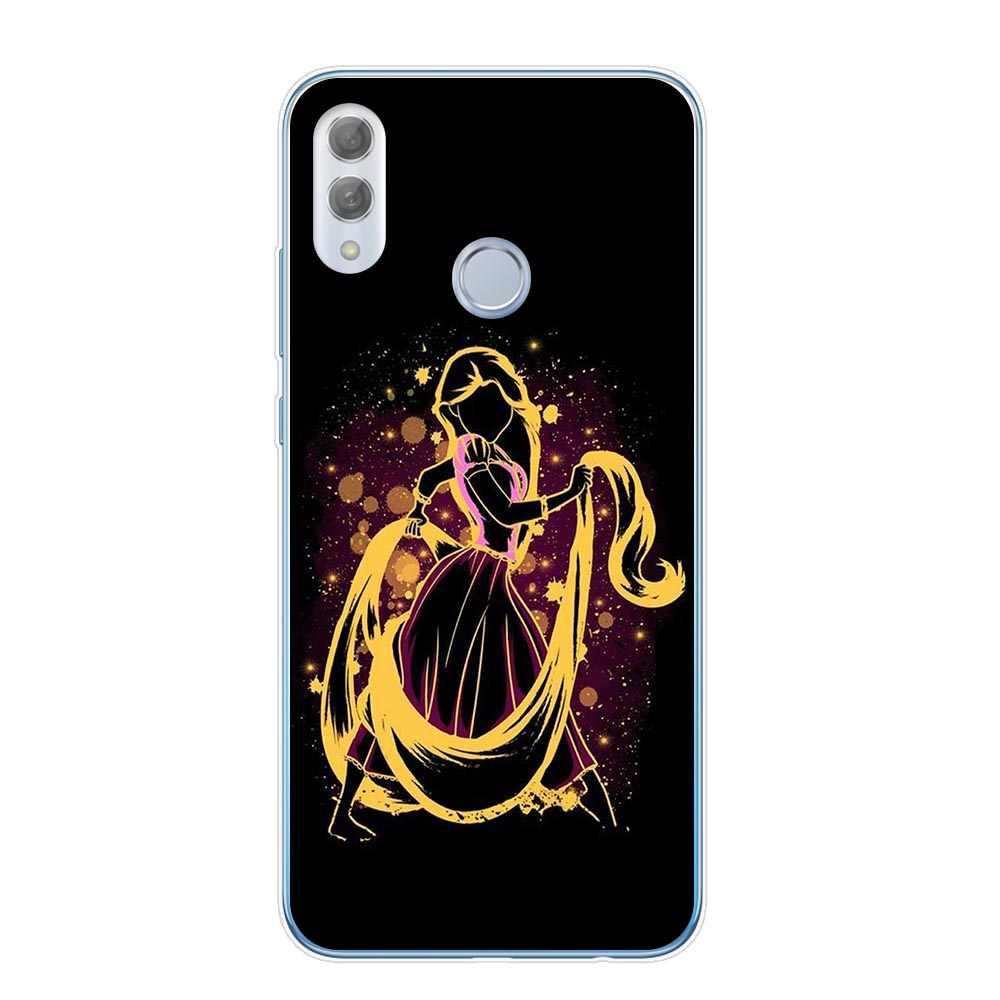 白雪姫アリスリトルマーメイドステッチバンビ Coque のための Huawei 社の名誉 9 10 20 Lite プロ 10i 8X 8C 6X 7X ソフト TPU 電話カバー