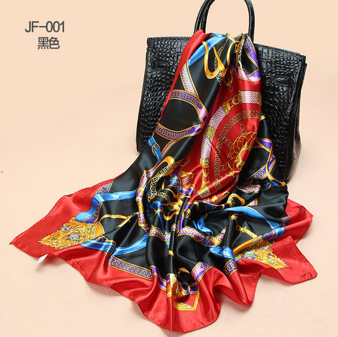 SM-FR68020-90x90cm-femme-Fashion-du-seau-foulards-en-soie-Europe-style