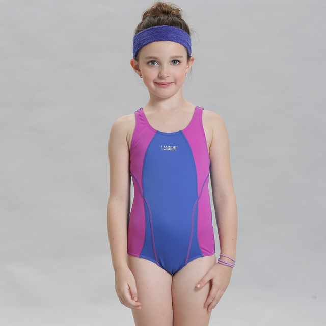 8dbf0dfadeb60 Bathers Children One Piece Swimwear Lovely Girl Sport Swimsuit Kids Swimmer  Girls Bathing Suit Infantil Swimwear for Girls 15080