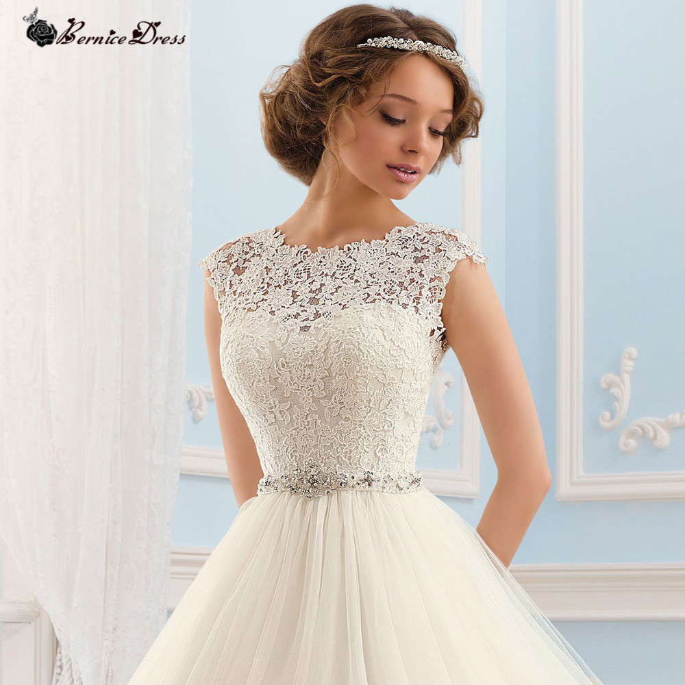 apparel express wedding dress promotion express wedding dresses Princess Backless Vintage Wedding Dress With Crystal Sash Noticeable Slim Waist Fast Shipping Cheap China Wedding dresses