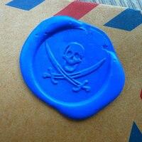 Pirate Skull Wax Seal Stamp Sealing Wax Seal Skull Seal