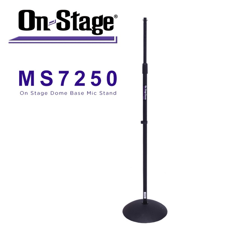 On-Stage On Stage MS7250 Dome Base Microphone Stand