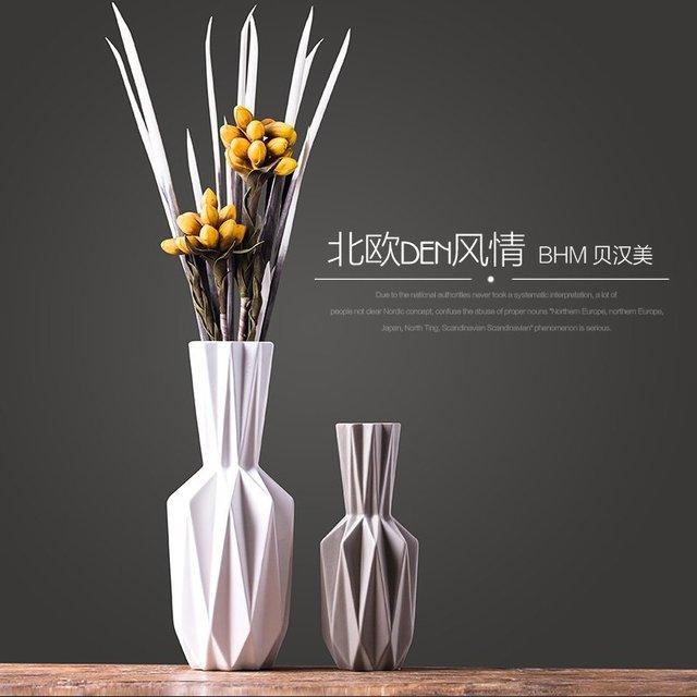 Us 7799 Xxxg Nordic Nowoczesny Minimalistyczny Salon Dekoracyjne Ceramiczny Wazon Kwiat Kwiat Ozdoby Stołowe Nowoczesny Kwiatowy Kwiecisty Origami
