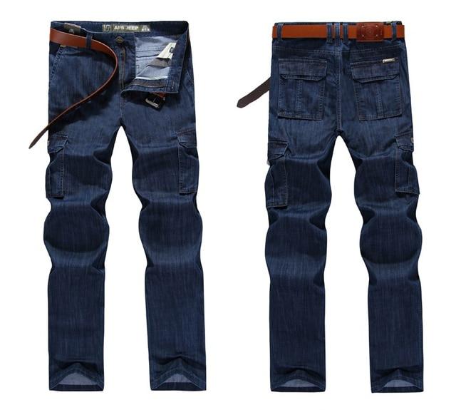 Multi-pocket Jeans