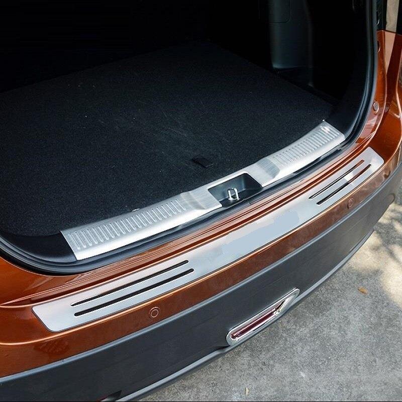 Foot Pedal Trunk Rear Panels Exterior Durable Modified Automobile Auto Covers Sticker Strip Parts Trim 18 19 FOR Suzuki Vitelaru
