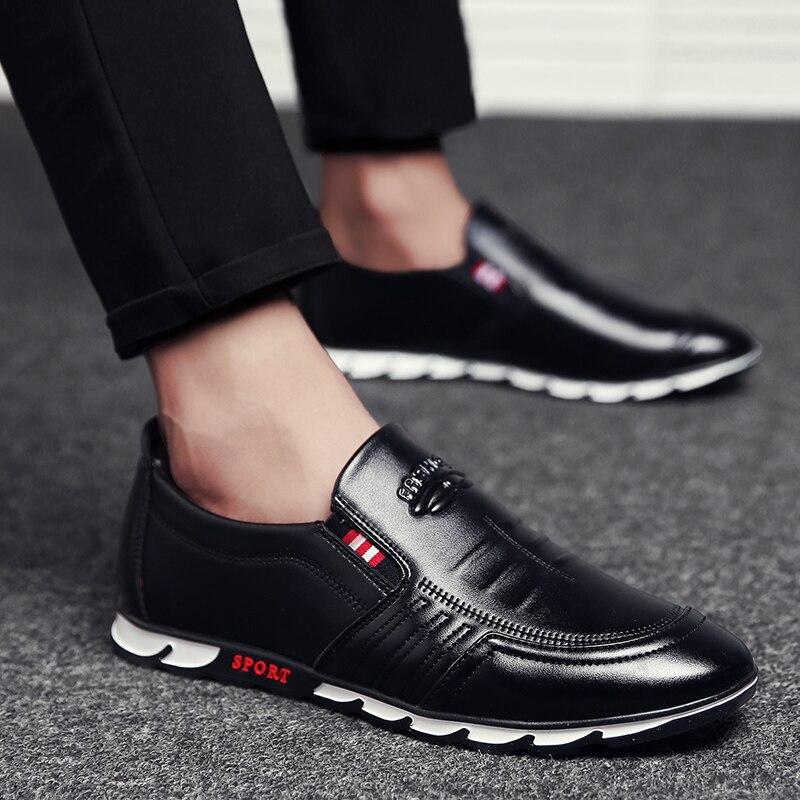 Loafer Shoes for Men Black - MiraShop