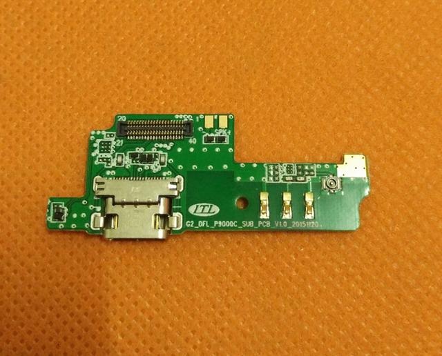 "USB Bordo Cargo Enchufe Original + Micrófono Para Elephone P10 P9000 Lite Helio MT6755 Octa Core 5.5 ""FHD 1080*1920 Envío gratis"