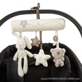 Export Baby Stroller Accessories Soft Plush Rabbit Car Hanging With Music Cute Babies Ring Pendant