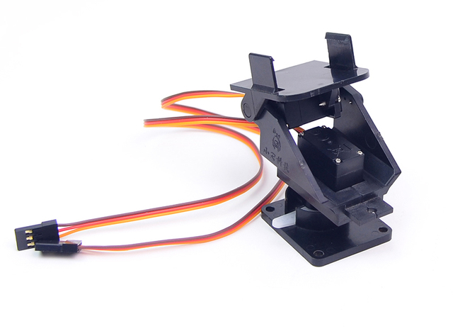 US $8 76 |2 Axis Servo Gimbal SG90 Servo Bracket Servo Micro Gimbal Pan  Tilt Servo PTZ For FPV Camera Remote Control RC Camera Robot Car-in Parts &