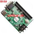BX-5U4 USB и Последовательный порт СВЕТОДИОДНЫЙ контроллер карты 1*50 Контактный Одного и двухцветный СВЕТОДИОД контроллера карты 3 шт./лот