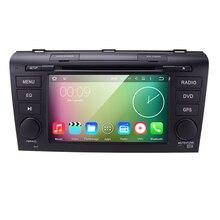 ROM 16G 1024*600 Quad Core Android 5.1.1 para MAZDA 3 MAZDA 2004-2006 2007 2008 2009 Coches Reproductor de DVD de Navegación GPS TV 3G Radio