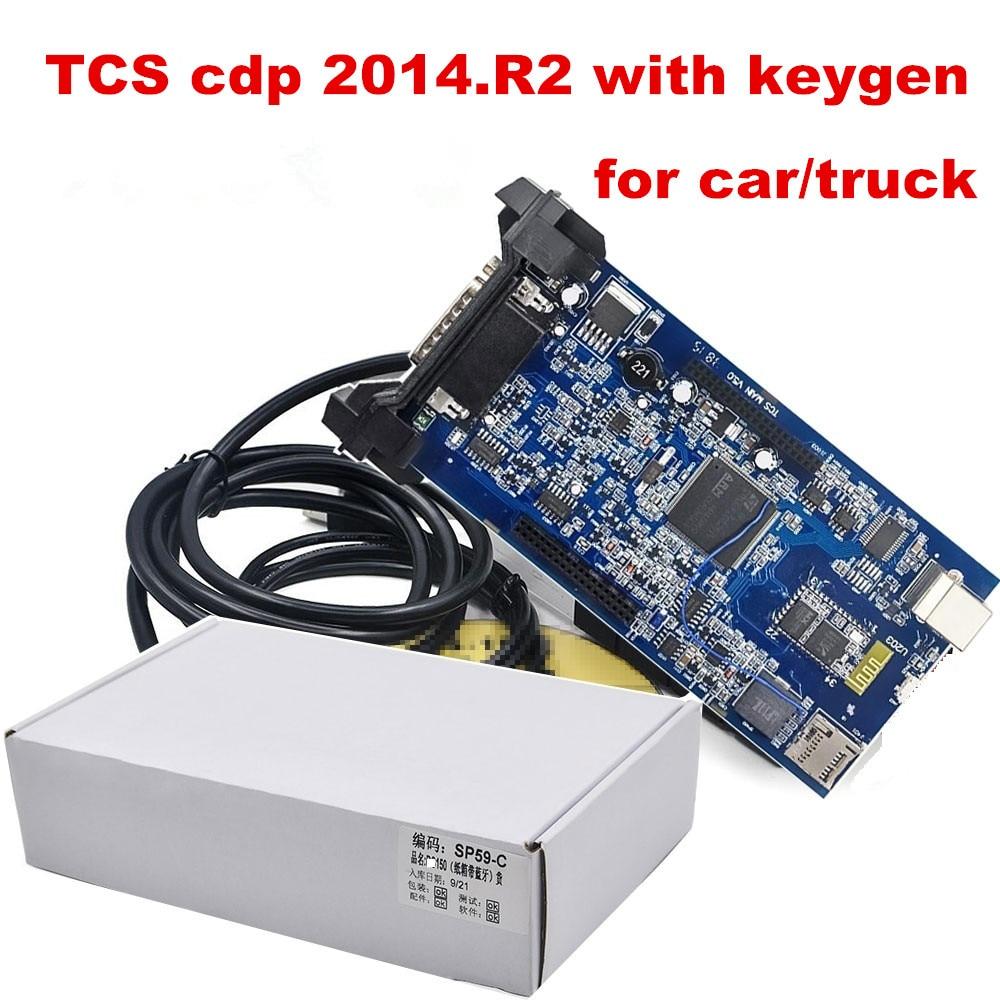 Prix pour 2014. R2 keygen En Option ENSEMBLES COMPLETS avec logement ds TCS cdp OBD2 sans Bluetooth TCS pro DE VOITURE/CAMION/générique Même comme WOW snooper