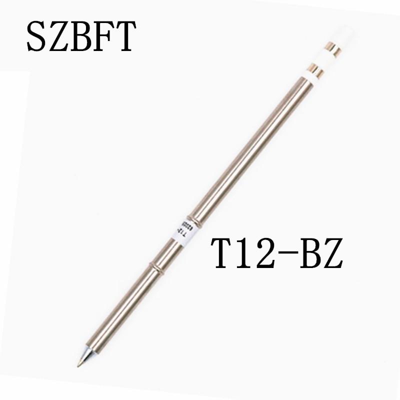 Tipy pro pájecí hrot SZBFT T12-BZ BCF1 BCF3 BCF3Z BL C1 C4 pro pájecí stanici Hakko FX-951 FX-952