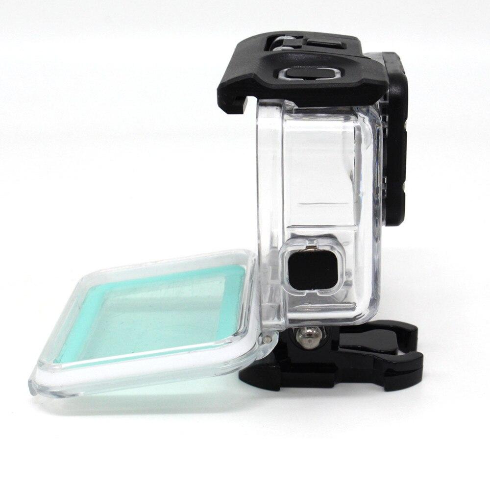 30 M Dokunmatik Ekran Gopro Hero 6 Için Su Geçirmez Konut Case 5 - Kamera ve Fotoğraf - Fotoğraf 4