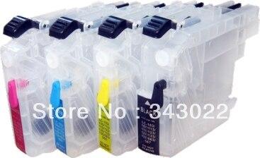 ФОТО Refill inkjet cartridge LC121M/LC121C/LC121Y/LC121BK/LC123M/LC123/LC123Y/LC123BK for BROTHER MFC-J245/MFC-J470DW/MFC-J475DW...