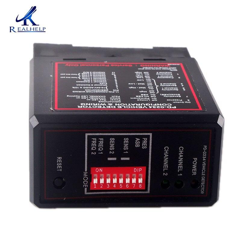 12 v ac duplo relé veículo detector de entrada laço de segurança 11 pinos soquete portão base loop detector