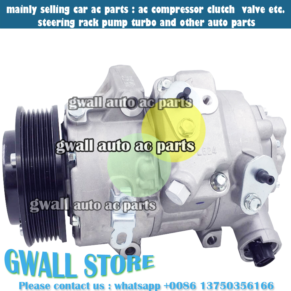 Automobiles & Motorcycles 6seu14c Car Air Conditioning Compressor For Toyota Corolla 1.6l 88310-1a751 447190-8502 883101a751 4471908502 Cheapest Price From Our Site Auto Replacement Parts