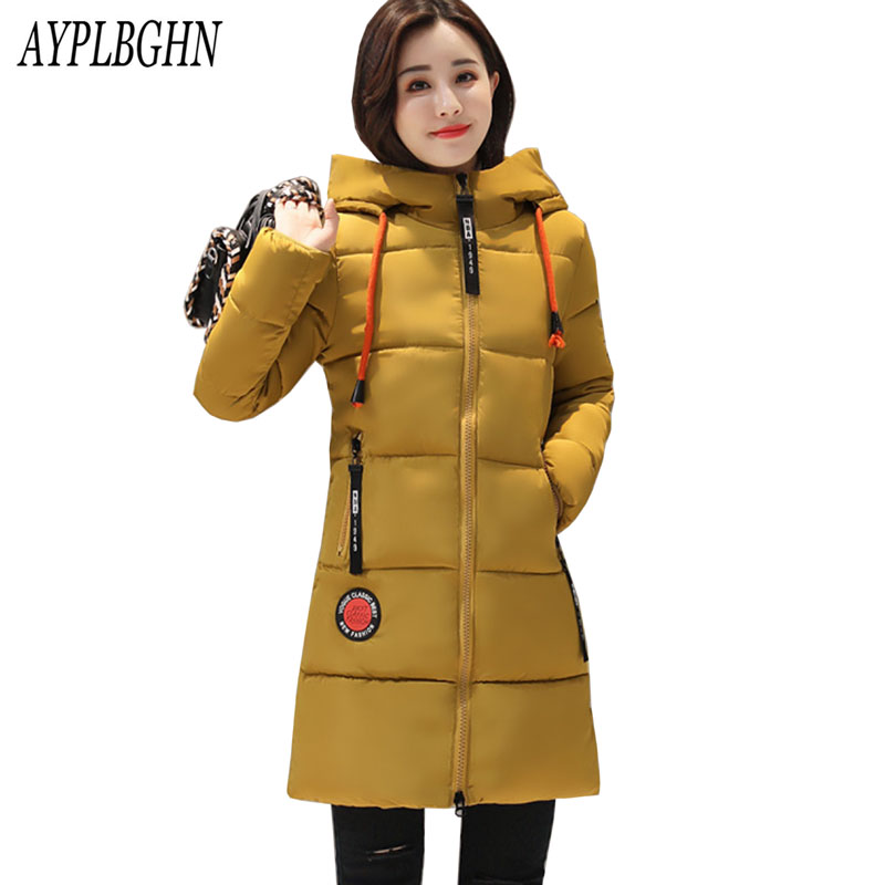 Plus size Women jackets Fur Hooded Jacket for women Padded Cotton Down Winter Coat women Long Parka Womens Coats Clothing 6L63 l 4xl plus size winter coat women fur hooded long jacket women winter outwear coats slim cotton padded jackets parkas mujer 2017