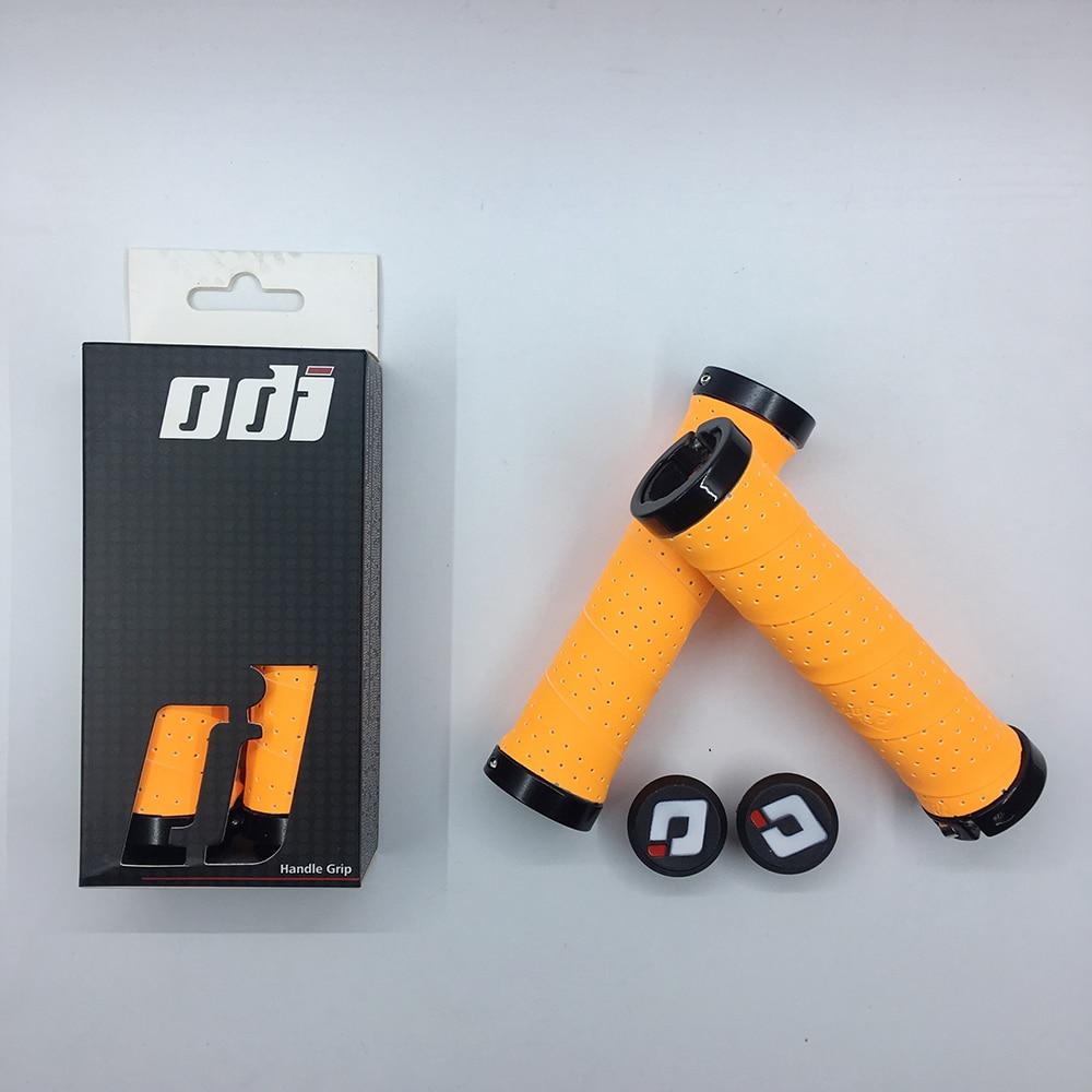 ODI Bicycle Grips Handlebars MTB Road Folding Handlebar Set EVA+PU Non-slip Shock Absorber Ultralight Strapping Locking Gripper