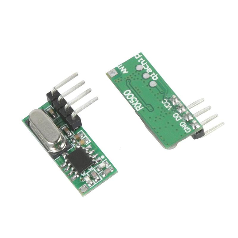 Universal 315 MHz RF Receiving Module ASK High Sensitivity Superheterodyne Wireless Receiver Module Diy Remote Control Switch point 4 infrared receiving module 4 receiving module infrared receiver module remote control