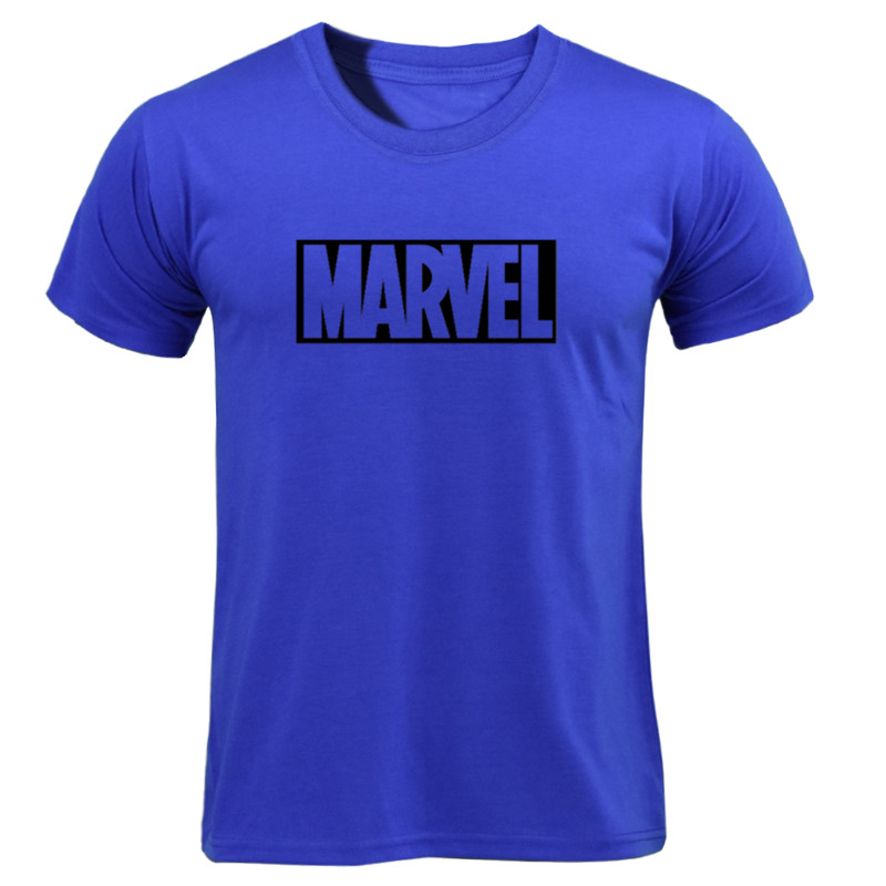 MARVEL T-Shirt 2019 New Fashion Men Cotton Short Sleeves Casual Male Tshirt Marvel T Shirts Men Women Tops Tees Boyfriend Gift 25