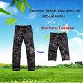Typhon homens pants respirável Anti UV leve 1 calças 2 visto homens ao ar livre calças calças Typhon