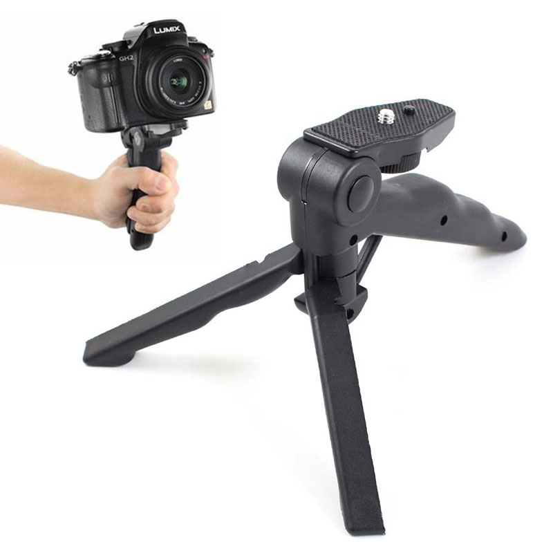 Universal Mini Camera Stand Tripod for Go Pro Hero 5 4 3+ Xiaomi Yi 2 II 4K SJcam SJ4000 Sony Action Cam Monopod Accessories
