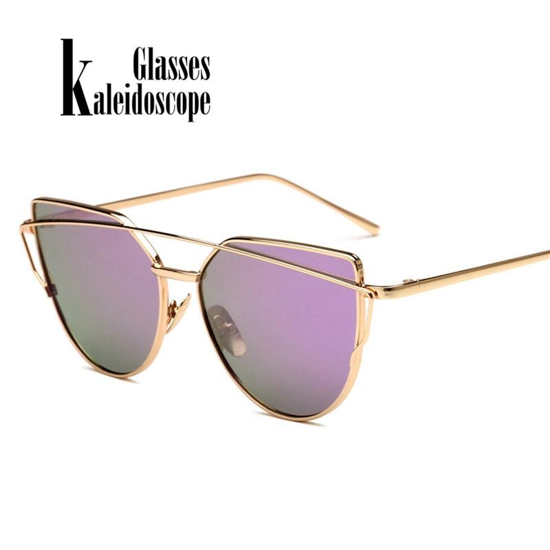 Gafas de sol de las mujeres Retro de marco de Metal, diseñador de marca, gafas Vintage gafas de sol de mujer gafas