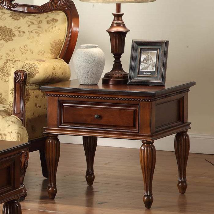 Деревянный столик американский стиль диван столик Европейский стиль небольшой журнальный столик