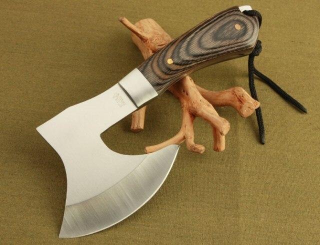2015 Sharp F702 Survival tomahawk axes axe outdoor machetes steel font b tactical b font axe