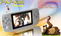 Çift Çekirdekli 720 HD Oynatma MP3, MP4. MP5 PAP K3s 600 Oyunları ile Video Oyun Konsolu, 3.5
