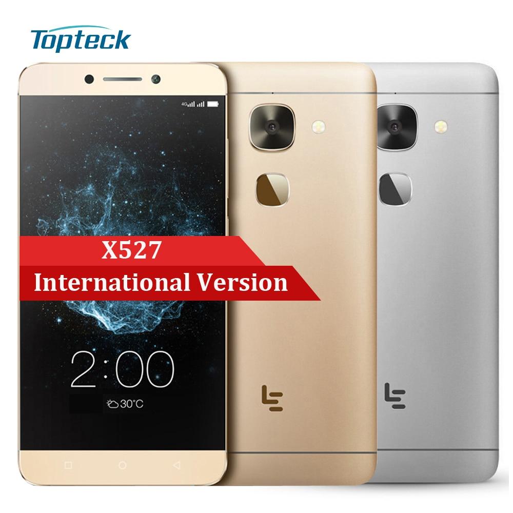 "Цена за Международная Версия Пусть V LeEco Le 2X527 4 Г Отпечатков Пальцев 5.5 ""FHD Смартфон Qualcomm Snapdragon 652 3 ГБ + 32 ГБ 16MP Мобильный Телефон"