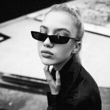 Vintage Rectangle Sunglasses Women Luxury Brand Designer Sun