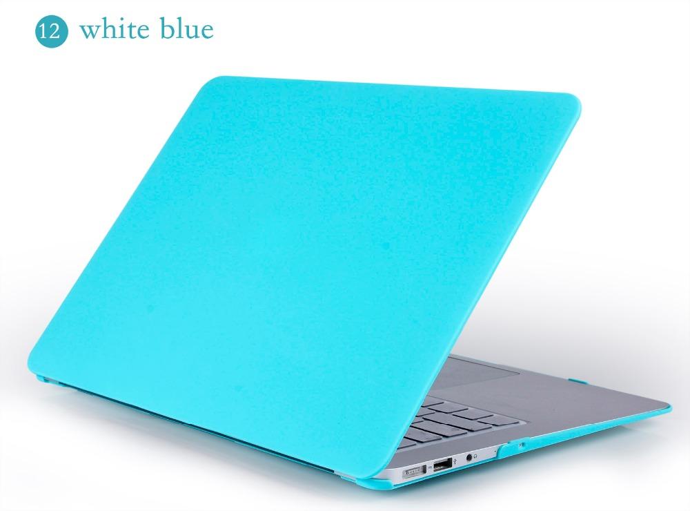 JUNWER CrystalMatte Transparent Case For Apple Macbook Air Pro Retina 11 12 13.3 15 For Macbook Air 13 A1932 Laptop Case Cover 32