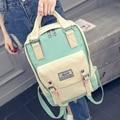 ZEITLIN Brand Korean Canvas Printing Backpack Women School Bags for Teenage Girls Cute Rucksack Vintage  rucksack knapsack W463