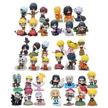 Anime Naruto Uzumaki Naruto PVC Action Figures Collection Toys Children Doll Gift Collection Toys 6styles