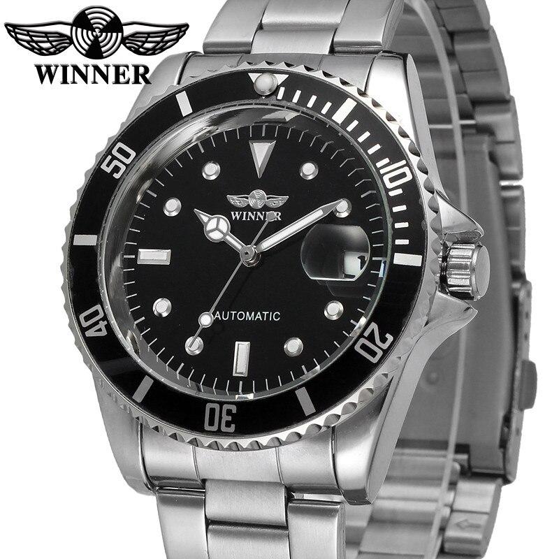 Mens Watch   Military Sport Automatic Mechanical Wristwatch Skeleton Male Clock 0372