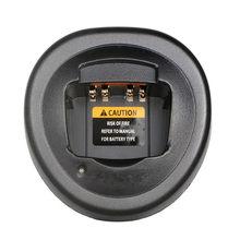 Chargeur de base de bureau unique pour Motorola, pour talkie-walkie, GP340, PRO5150, GP328, GP338, PTX760, GP580, HT750, etc.