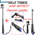 GoPro Aluminum Extendable Pole Stick Telescopic Handheld Monopod with Mount Adapter for GoPro Hero 4 3+ 2 SJ4000 Xiaomi Yi GP180